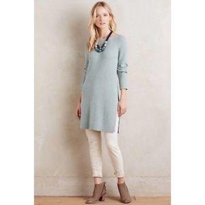 Moth | Anthropologie Side Slit Sweater Tunic Dress